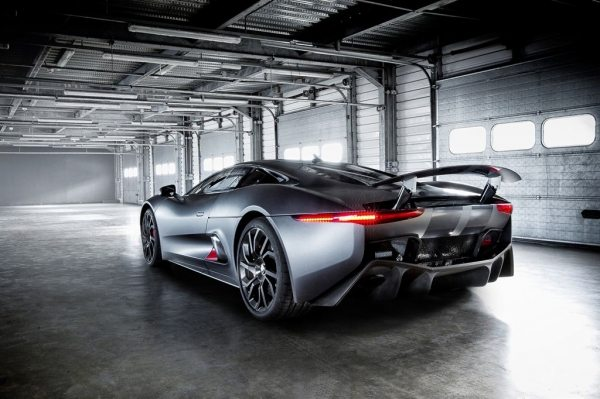 The Jaguar C-X75-001