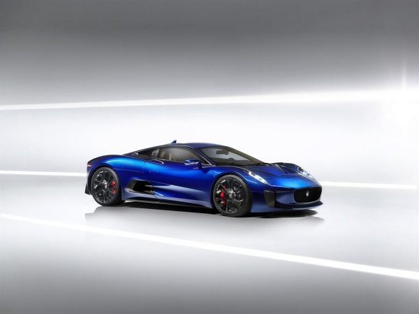 The Jaguar C-X75-002
