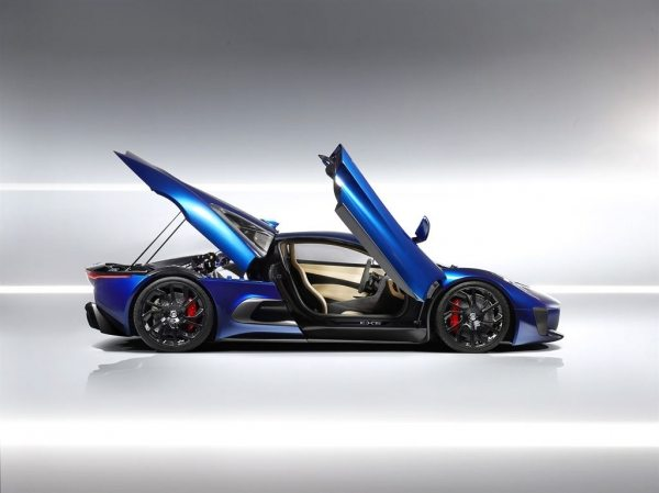 The Jaguar C-X75-006