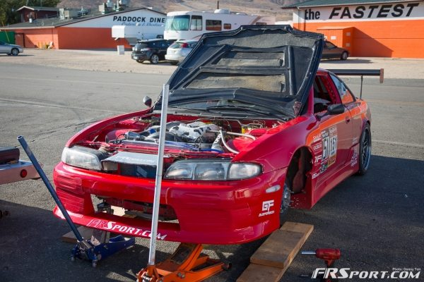 adam knapik redline time attack 240sx