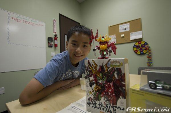 Nam - proud of his work.