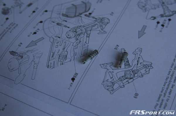 free z32 rear shocks. We have lightweight aluminum knuckles, baby!
