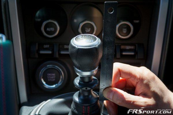 BRZ DIF Shiftknob Install-003