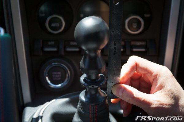 BRZ DIF Shiftknob Install-008