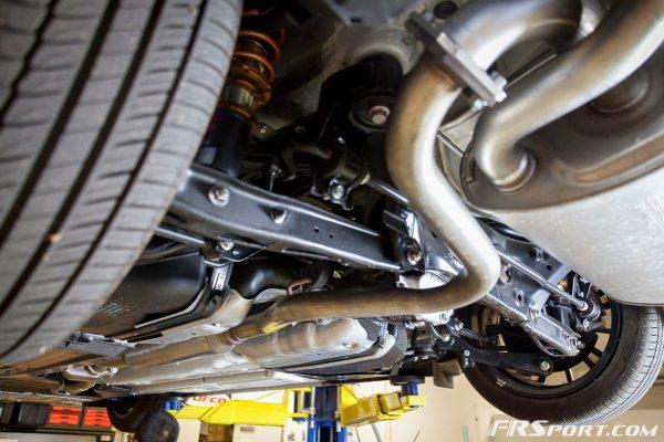 Subaru BRZ Blitz Exhaust Install-002