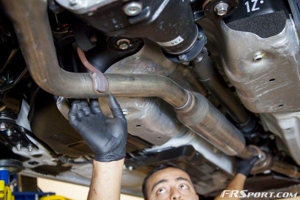 Subaru BRZ Blitz Exhaust Install-009