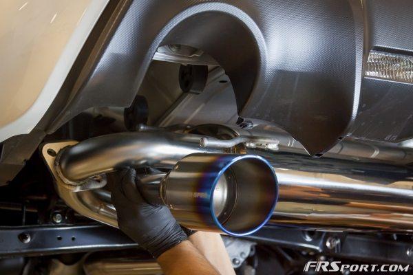 Subaru BRZ Blitz Exhaust Install-020