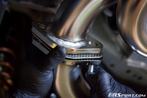 Subaru BRZ Blitz Exhaust Install-021