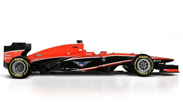 2014 Marussia F1 Car-001