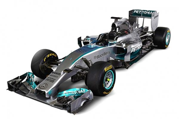2014 Mercedes x Petronas F1 Car-001