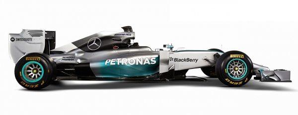 2014 Mercedes x Petronas F1 Car-002