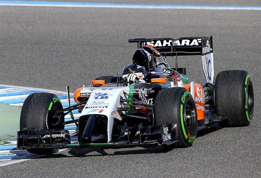 2014 Sahara Force India F1 Car-001