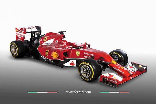2014 Scuderia Ferrari F1 Car-001