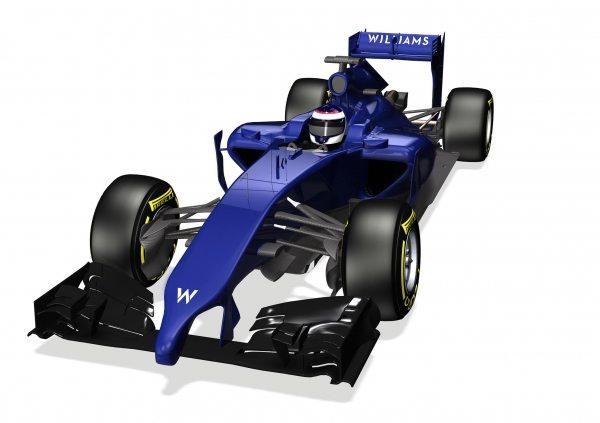 2014 Williams F1 Car-001