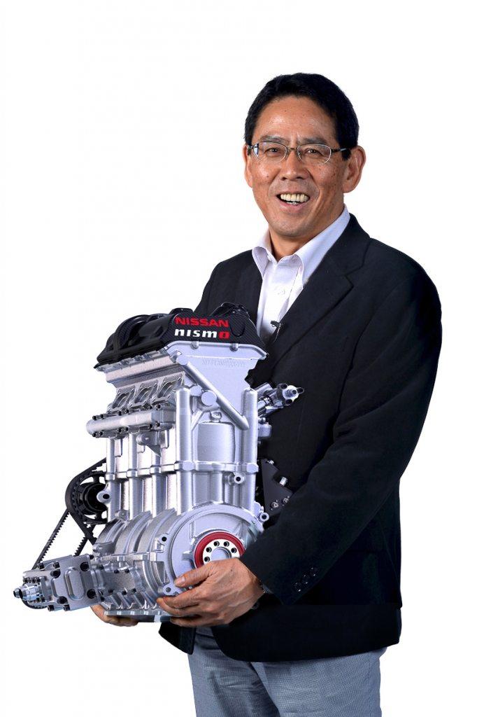 Nissan ZEOD Engine-006