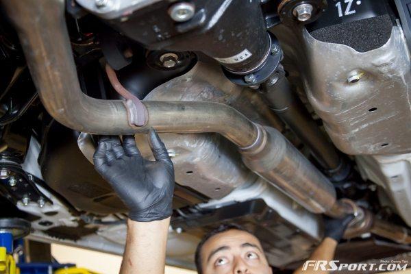 Subaru BRZ Exhaust Install-026