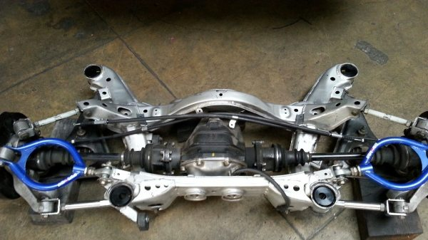 "-The finished ""solid"" subframe product-"
