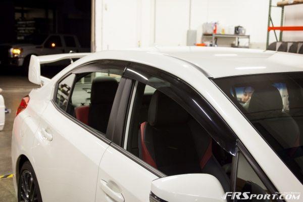2014 Subaru STI Visor Install-020