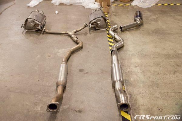 2015 Subaru STI Tomei Ti Exhaust Install-024